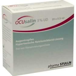 OCUsalin® 5% UD 20x0,5ml Ein-Dosis-Augentropf.