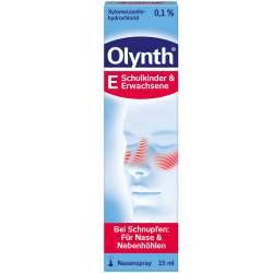 Olynth® 0,1 % Schnupfen Dosierspray Nasenspray 15ml
