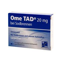 Ome TAD 20mg b. Sodbrennen 14 Kaps., mag.-res.