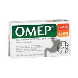 OMEP® HEXAL 20mg 14 magensaftres. Tbl.