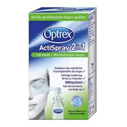 Optrex ActiSpray 2in1 für müde+überanstrengte Augen 10 ml