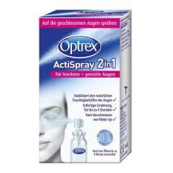 Optrex ActiSpray 2in1 für trockene+gereizte Augen 10 ml