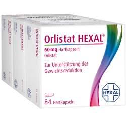 Orlistat HEXAL® 60mg 3x84 Hartkaps.