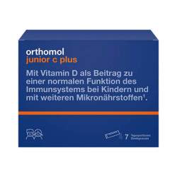 Orthomol junior C plus 7 Btl.