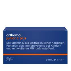 Orthomol junior C plus Waldfrucht 30 Kautbl.