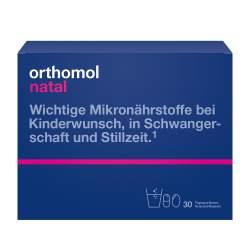 Orthomol Natal Granulat + Kapseln 30 Btl.