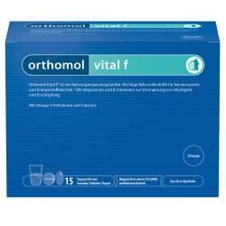 Orthomol Vital f Granulat/Tbl./Kaps. Orange 15 Btl.