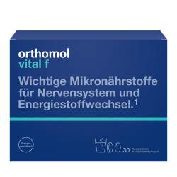 Orthomol Vital f Granulat/Tbl./Kaps. Orange 30 Btl.