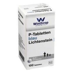 P-Tabletten blau Lichtenstein 100 Tbl.