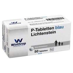 P-Tabletten blau Lichtenstein 50 Tbl.