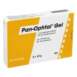 Pan-Ophtal® Gel 3x10g Augengel