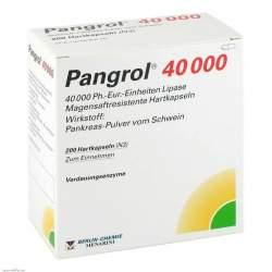 Pangrol® 40000, 200 Hartkapseln magensaftresistent