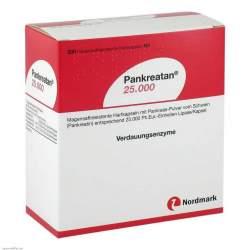 Pankreatan® 25.000, 200 magensaftresistente Hartkapseln