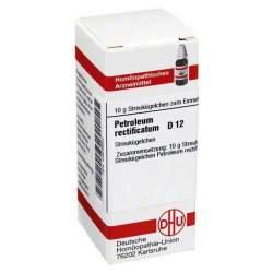 Petroleum rectificatum D12 DHU 10g Glob.