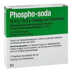 Phospho-soda 24,4 g/10,8 g 2x45ml Lösung zum Einnehmen
