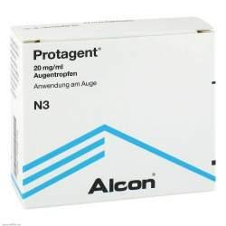 Protagent Augentropfen 20 mg/ml 3x 1 Fl. 10 ml