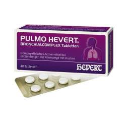 Pulmo Hevert® Bronchialcomplex 40 Tbl.