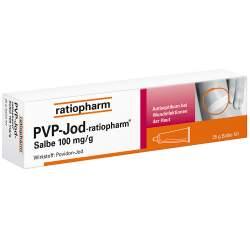 PVP-Jod-ratiopharm® Salbe 25g
