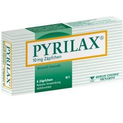 Pyrilax® 10mg 6 Zäpfch.
