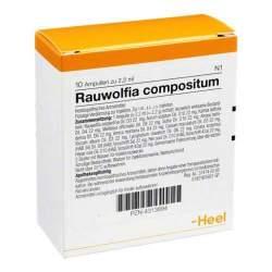 Rauwolfia compositum 10 Amp. Inj.-Lsg.