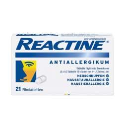 Reactine®, 10 mg, 21 Filmtabletten