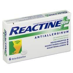 Reactine duo® 5 mg / 120 mg 6 Retardtabletten