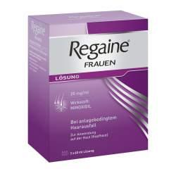 Regaine® Frauen, 20 mg/ml Lösung zur Anwendung auf der Haut (Kopfhaut) Lösung, 3 Fl. 60ml
