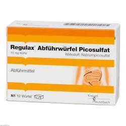 Regulax® Abführwürfel Picosulfat 12 Würfel