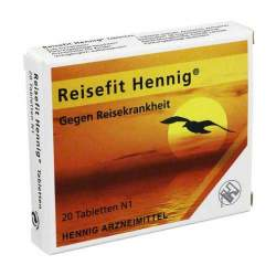 Reisefit Hennig 50mg 20 Tbl.