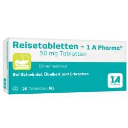 Reisetabletten - 1 A Pharma® 20 Tbl.