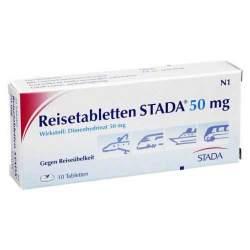 Reisetabletten STADA® 50 mg 10 Tbl.