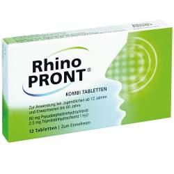 RhinoPRONT® Kombi 12 Tabletten