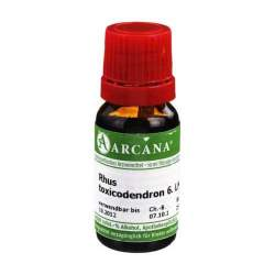 Rhus toxicodendron Arcana LM 6 Dilution 10ml
