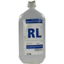 Ringer-Lactat-Lösung DELTAMEDICA Infusionslösung 1000ml Plastikfl.