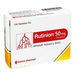 Rutinion® 50mg 100 Tbl.