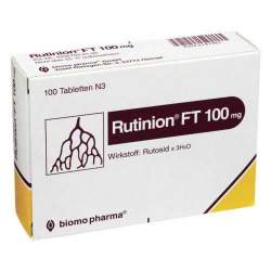 Rutinion® FT 100mg 100 Tbl.