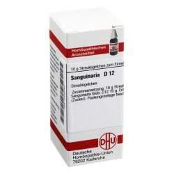 Sanguinaria D12 DHU 10 g Glob.