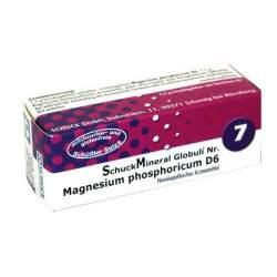 Schuckmineral Globuli 7 Magnesium phosphoricum D6 7,5g