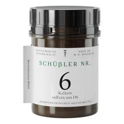Schüssler Nr. 6 Kalium sulfuricum D6 Apofaktur 400 Tbl.