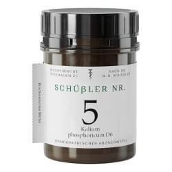 Schüssler Nr.5 Kalium phosphoricum D6 Apofaktur 400 Tbl.