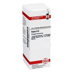 Sepia D8 DHU Dil. 20 ml
