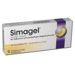 Simagel® 430 mg 20 Kautabletten