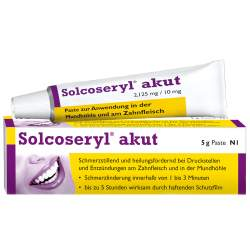 Solcoseryl® akut 2,125mg/10mg Paste 5g