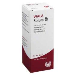 Solum Öl, WALA Ölige Einreibung 50 ml