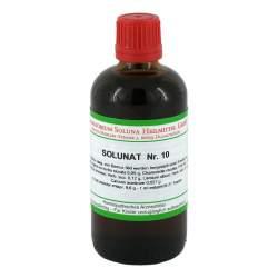 Solunat Nr. 10 Tropfen 100 ml