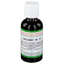 Solunat Nr. 14 Tropfen 50 ml