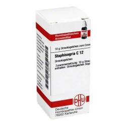 Staphisagria C12 DHU Glob. 10 g
