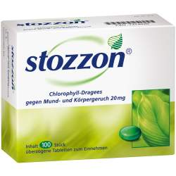 Stozzon Chlorophyll-Dragees 100 St.