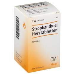 Strophanthus comp.-Herztabletten 250 Tbl.