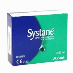 Systane® Benetzungstropfen für die Augen 3x 10ml